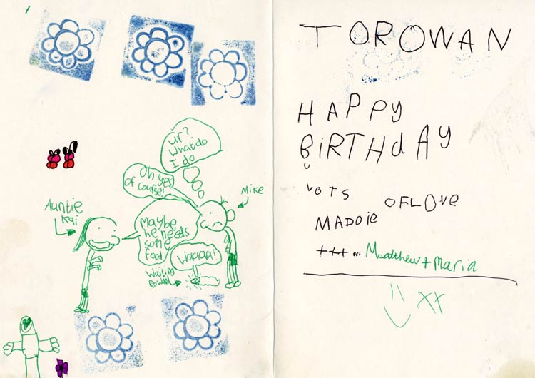 First Birthday Card Blogshank Mike Smith Illustrator And Diary